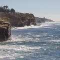 Looking south from Luscomb's Point at Sunset Cliffs Natural Park.- San Diego's Best Beaches