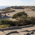 Day use area adjacent to the campground at San Clemente State Beach.- Guide to Camping on the Southern California Coast