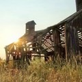 Shaniko is surrounded by abandoned structures.- Ghost Towns of the West