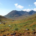 Glimpse back toward the trailhead along the Reed Lakes Trail.- Our Guide to Epic Alaskan Summer Explorations