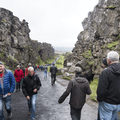 Almannagjá, walking between continents.- 14 Must-Do Activities In Iceland