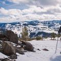Andesite Peak.- Best Snowshoe Trails in Tahoe's Backcountry