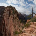 View of the last leg of Angels Landing. - 4 Tips to Help You Prepare for Zion National Park