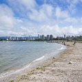View toward downtown Vancouver from Hadden Park.- Vancouver B.C.'s Best Beaches + Swimming Holes