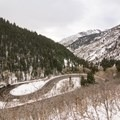 Parking for Hidden Falls is along the hairpin turn.- 5 Safe and Easy Ways to Enjoy Winter in the Wasatch
