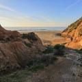Trail leading down to McClures Beach.- California's Best Beaches