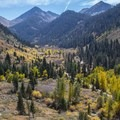 View of Mineral King Valley from the Monarch Lake/Sawtooth Pass Trail.- California's 60 Best Day Hikes