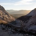 Sierra sunrise over Lost Valley along Glacier Pass, Sawtooth Pass + Big Five Lakes Loop.- 30 Must-Do Adventures in California