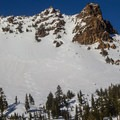 Mount Diller (9,087 ft) from Ridge Lakes.- 30 Must-Do Winter Adventures in California