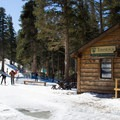 Tamarack Lodge is next to Tamarack Cross Country Ski Center, from which you can explore miles of Nordic and snowshoe trails threading through the Mammoth Lakes Basin.- California Winter Adventures Beyond the Ski Slopes