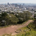 City views from Corona Heights Park.- Adventure in the City: San Francisco