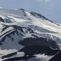 Seracs and crevasses on Shasta's Hotlum Glacier.- 10 Reasons to Visit Mount Shasta