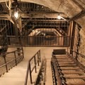 The mine shaft in Empire State Historic Park.- Ghost Towns of the West