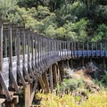 Flume 28 along the Independence Trail.- California's 60 Best Day Hikes