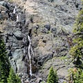 Frazier Falls during a low water year. - 5 Reasons to visit Lakes Basin