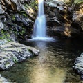 North Fork Falls and its secluded canyon.- California's 35 Best Swimming Holes