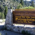 Located directly off Highway 89 below towering Sierra granite peaks, Emerald Bay State Park provides access to the historic Vikingsholm.- 3-Day Weekend Itinerary in Tahoe, CA