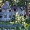 Vikingsholm sits behind the main beach.- Winter Retreat in Tahoe