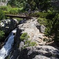 Upper Eagle Falls en route to Eagle Lake.- 3-Day Fall Itinerary for South Lake Tahoe