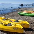 Commons Beach Kayak rentals are onsite during summer months.- 3-Day Weekend Itinerary in Tahoe, CA