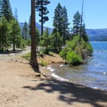 Lakeside Interprative Trail at Donner Memorial State Park.- Exploring California's State Parks