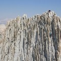 Matthes Crest: Climbers ascending the north summit.- 35 Summit Views Worth Hiking For