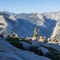 Glacier Point, one of Yosemite's most popular vistas.- 3-Day Itinerary for Yosemite National Park