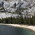Beach on Tenaya Lake's east end.- 3-Day Itinerary for Yosemite National Park