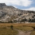 Spur trail to Lower Cathedral Lake. The lake sits in the bowl below the granite cirque.- 10 Best Day Hikes in Yosemite National Park