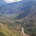 Cedar Grove Overlook.- Exploring California's 9 National Parks