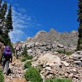 Ascent up Fancy Pass.- Incredible Hikes for Alpine Wildflowers