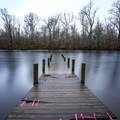The Big Alabama public boat launch starts boaters out deep in the Atchafalaya basin.- Louisiana's Cypress and Sea