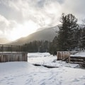 Sunset over the Marcy Dam.- Winter Destination Spotlight: 48 Hours in the Adirondacks