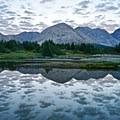 Sunrise at Baker Lake.- The Best of Banff, Canada
