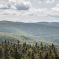 The surrounding Catskill Mountains from Balsam Lake Fire Tower.- The 8 Best Hikes in New York's Catskills
