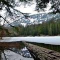 Barclay Lake.- Great Snowshoeing Near Seattle