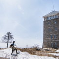 Bear Mountain: First sight of Perkins Tower.- Hudson Valley's 8 Best Snowshoe Adventures
