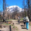Mount Adams, South Climb.- October Hike Challenge with Team Sierra