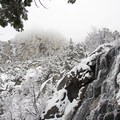 Bells Canyon Lower Waterfalls.- 26 Amazing Snowshoe-to-Waterfall Adventures