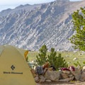 Camping below Forester Pass.- John Muir Trail (JMT) Overview