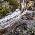 Berstarse Falls via the PCT. - America's Incredible Thru-Hikes