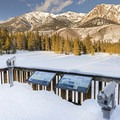 Viewing deck, interpretive signs and spotting scopes near the Billy's Bridge Trailhead.- Best of Sun Valley for Fun-Loving Families
