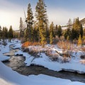 Billy's Bridge is a gorgeous winter hike with well-marked trails. - 3 Days of Winter Adventure in Sun Valley, Idaho
