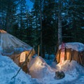The McCully Basin yurts.- Winter Camping Essentials
