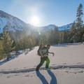 Sunrise over Wing Ridge.- Ski Bum Sweethearts' Best Romantic Getaways