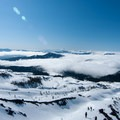 Views from Mt St Helens Worm Flows Backcountry Ski- Backcountry Skiing the Pacific Crest