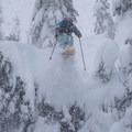 Skiing at Grace Lakes.- Backcountry Skiing in Washington