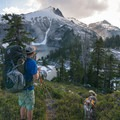 Taking in the mid-summer view above Cyclone Lake in the North Cascades.- 20 Hikes That Will Make You Feel Like a Badass