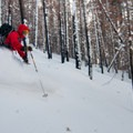 A 2012 burn opened some great skiing through the trees at Table Mountain + Diamond Head.- Washington's Best Winter Destinations