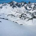 Earned turns at Royal Basin.- Backcountry Skiing in Washington
